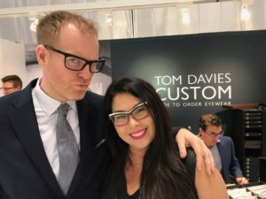 Tom Davies at Vision Expo East
