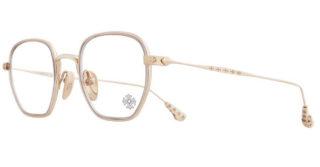Bone Prone 1 Chrome Hearts Glasses Gold