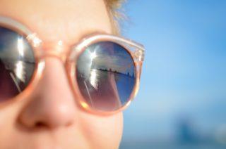 how to organize sunglasses